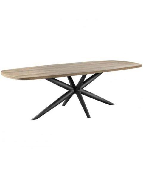 Eettafel langwerpig hout