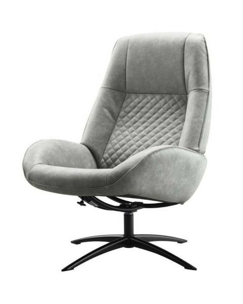 IN.HOUSE Fauteuil Irabo Grey