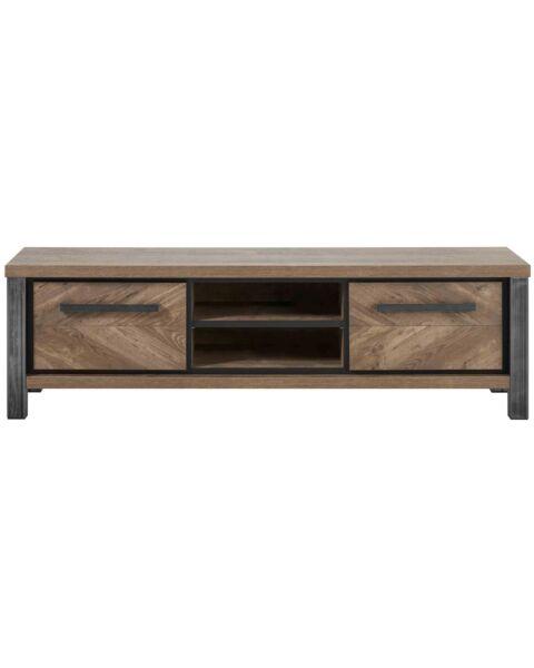 TV-meubel dressoir houtstructuur