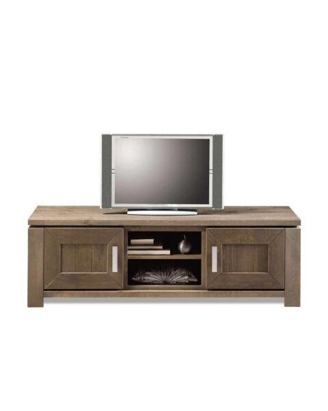 NAVARRA TV-dressoir 2dr, 1ov leem Showroom