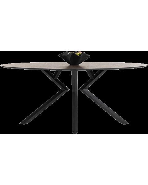 Masura, Bartafel Ellips - 180 X 100 Cm (Hoogte 92 Cm) - Roest