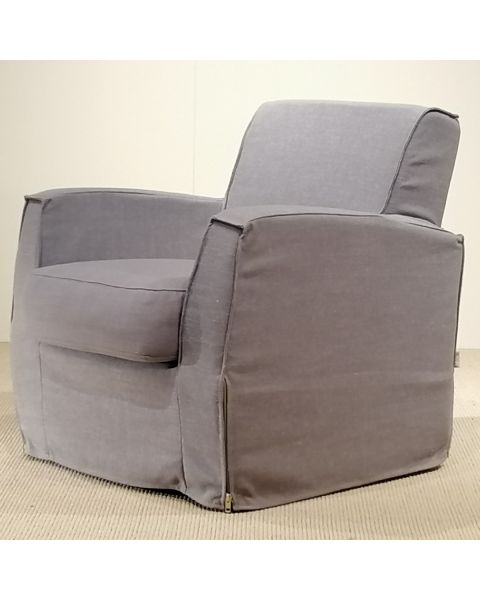 XOOON Fauteuil Lonso Losse Hoes Stof