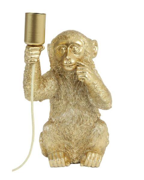 Tafellamp aap geel
