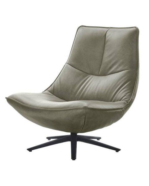 fauteuil monzone groen leer