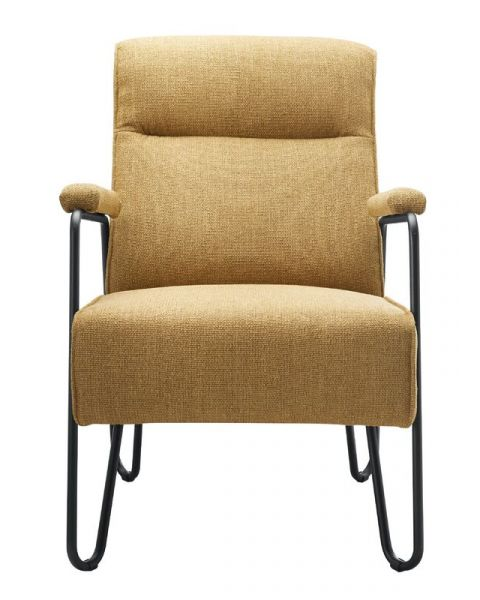 IN.HOUSE Fauteuil Satorno geel
