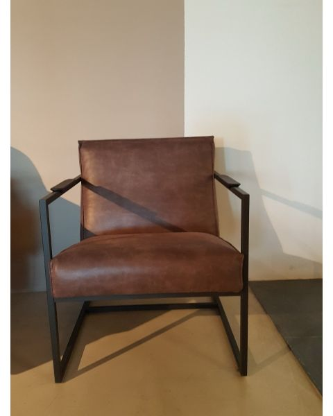 In.House fauteuil Roni black Showroom