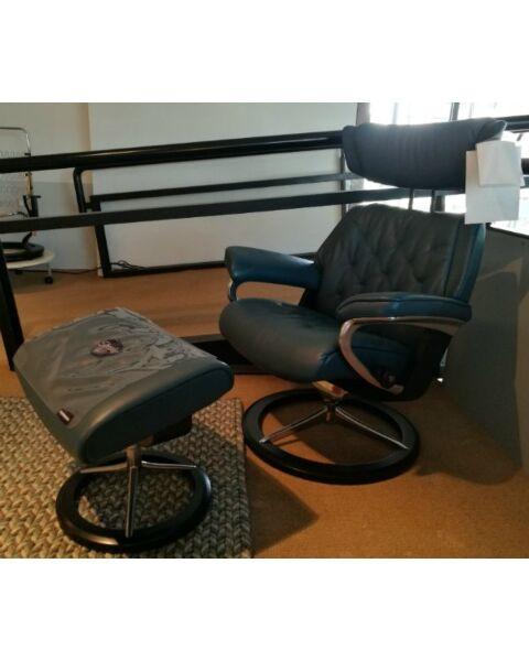 Stressless fauteuil Skyline+Hocker