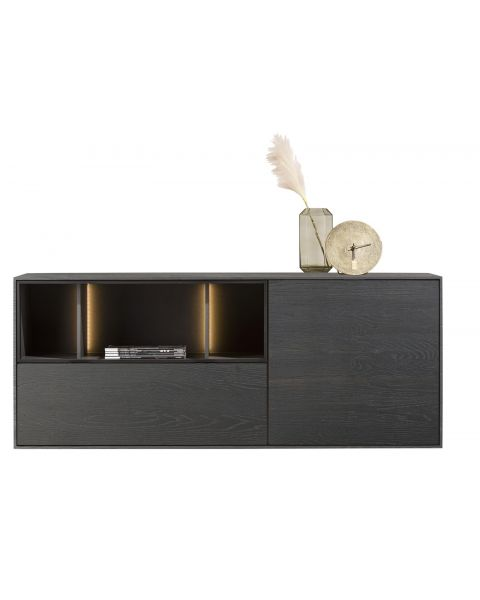 xooon-dressoir-elements-210cm-onyx