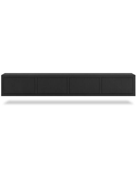 Eiken TV-meubel Juwel Zwart 240cm